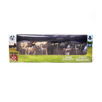 Bigtime Barnyard Cow Playtime Set