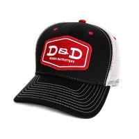 D&D Black Snap-Back Cap
