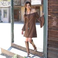 Union of Angels Brown Anabel Dress