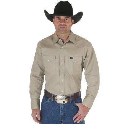 Men's Wrangler Work Western Shirt