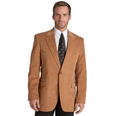 Mens Circle S Lubbock One-Button Tan Sportcoat