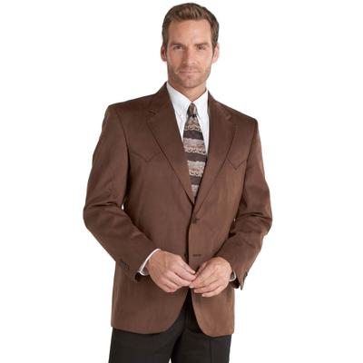 Mens Circle S Two-Button Houston Microsuede Sportcoat