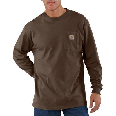 Carhartt Mens Long Sleeve Workwear Pocket T-Shirt