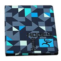 Hooey Blue Geometric Camoflauge iPad Cover