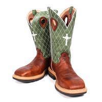 Twisted X Men's Western Steel Toe W/ Cross