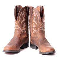 Tony Lama Men's Pitstop Round Toe Cowboy Boot