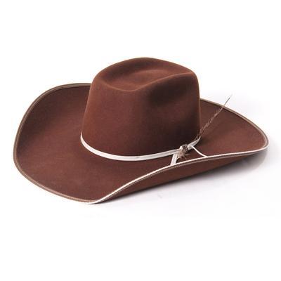 Resistol Tuff Hedeman Snake Eyes Banded Hat