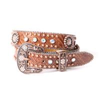 3D Girls Youth Multi Color Rhinestone Belt