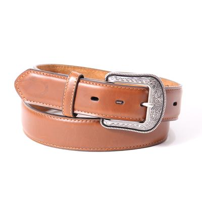 3d Mens Waxy Plain Belt
