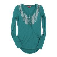 Panhandle Slim Ladies Long Sleeve Studded Tee Shirt