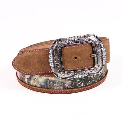 Camo Queen Leather Belt