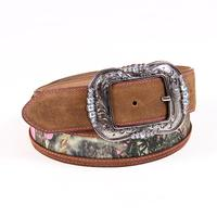 Camo Queen Leather Belt