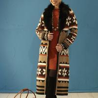 Roja Designer Mayan Temple Snowflake Coat