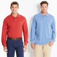 Vineyard Vines Long-Sleeve Classic Polo