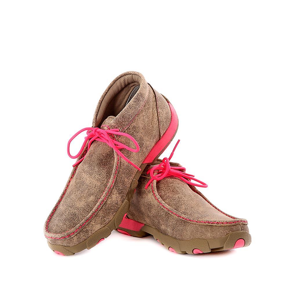 Original Women39s Ruff Stock PWS Toe 133939 Boot  Saddle  Red