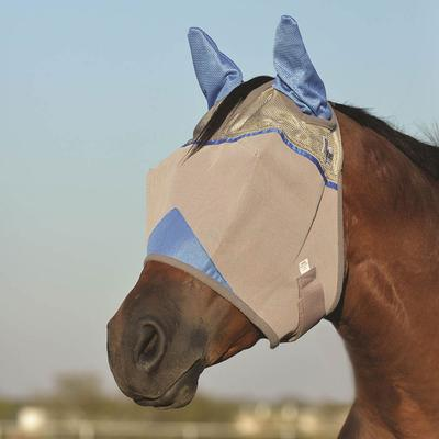 Cashel Crusader Horse Size Fly Mask with Ears, Colors BL