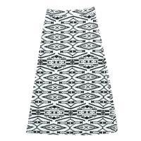 Angie Aztec Tribal Print Maxi Skirt