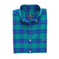 Vineyard Vines Slimfit Tucker Alwood Plaid Long Sleeve Shirt