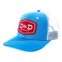 D&D Texas Outfitters Blue and White Cap