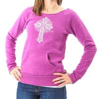 D&D Pink Cross Front Sweater