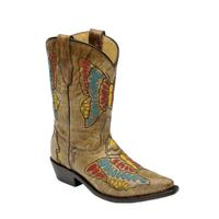 Corral Honey Multi Color Butterfly Boots