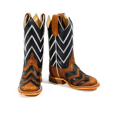 Anderson Bean Kid's Chevron Boots