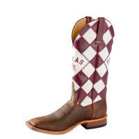 Horsepower Men's A&M Checkered Boot
