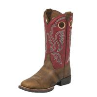 Justin Kid's Buffalo Bent Rail® Boots
