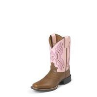 Justin Kid's Bay Western Boots