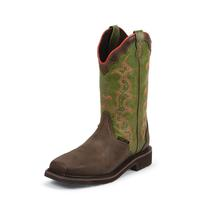 Justin Women's Brown Stampede Work Boots