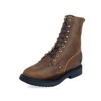 Justin Men's Aged Bark Double Comfort® Lace Up Work Boots
