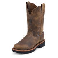 Justin Men's Rugged Tan Gaucho J-Max® Steel Toe Work Boots