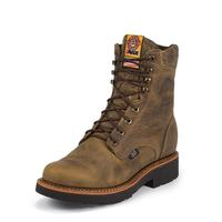 Justin Men's Rugged Tan Gaucho J-Max® Lace Up Work Boots