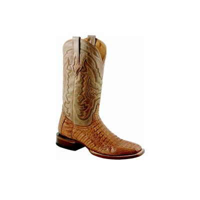 Lucchese Brant Boots in Tan