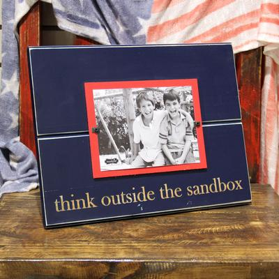 Think Outside The Sandbox Picture Frame