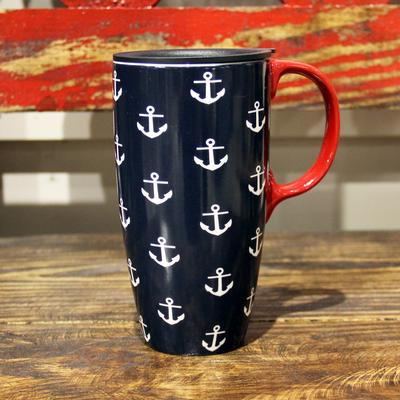 Anchors Ceramic Latte Cup