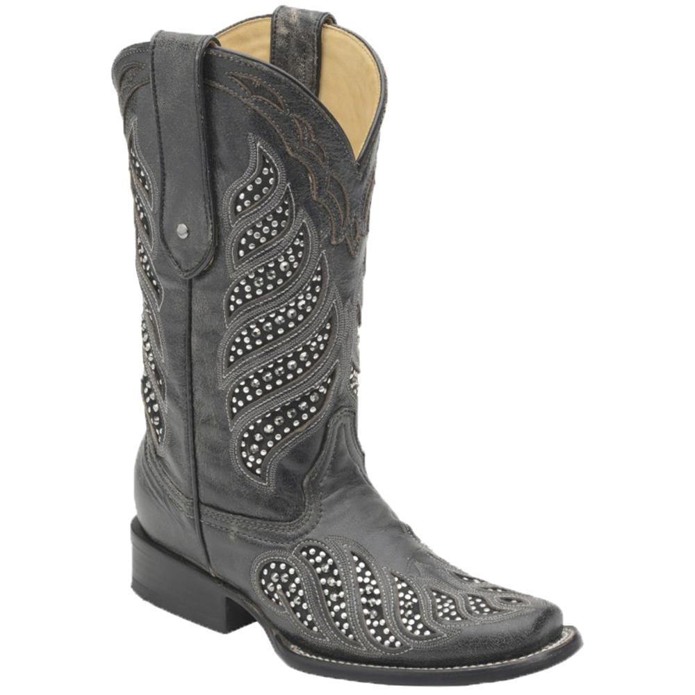 corral s black inlay boots d d