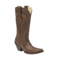 Corral Women's Cord Stitschstud Boots in Brown