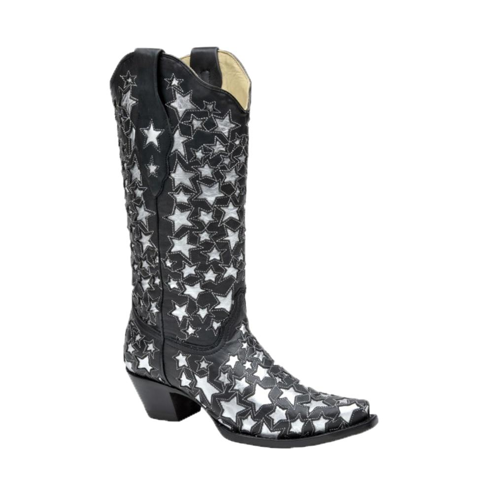 Corral Women's Star Spangled Boots in Black | D&D Texas ...