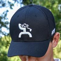 Hooey Golf Cap in Black