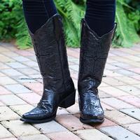 Corral Women's Black on Black Boots