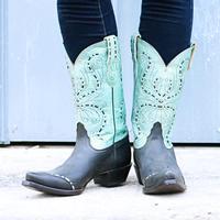 Tony Lama Women's Black Vail Boots