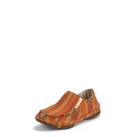 Tony Lama Women's Orange Striped 3R™ Casuals Canvas Shoes