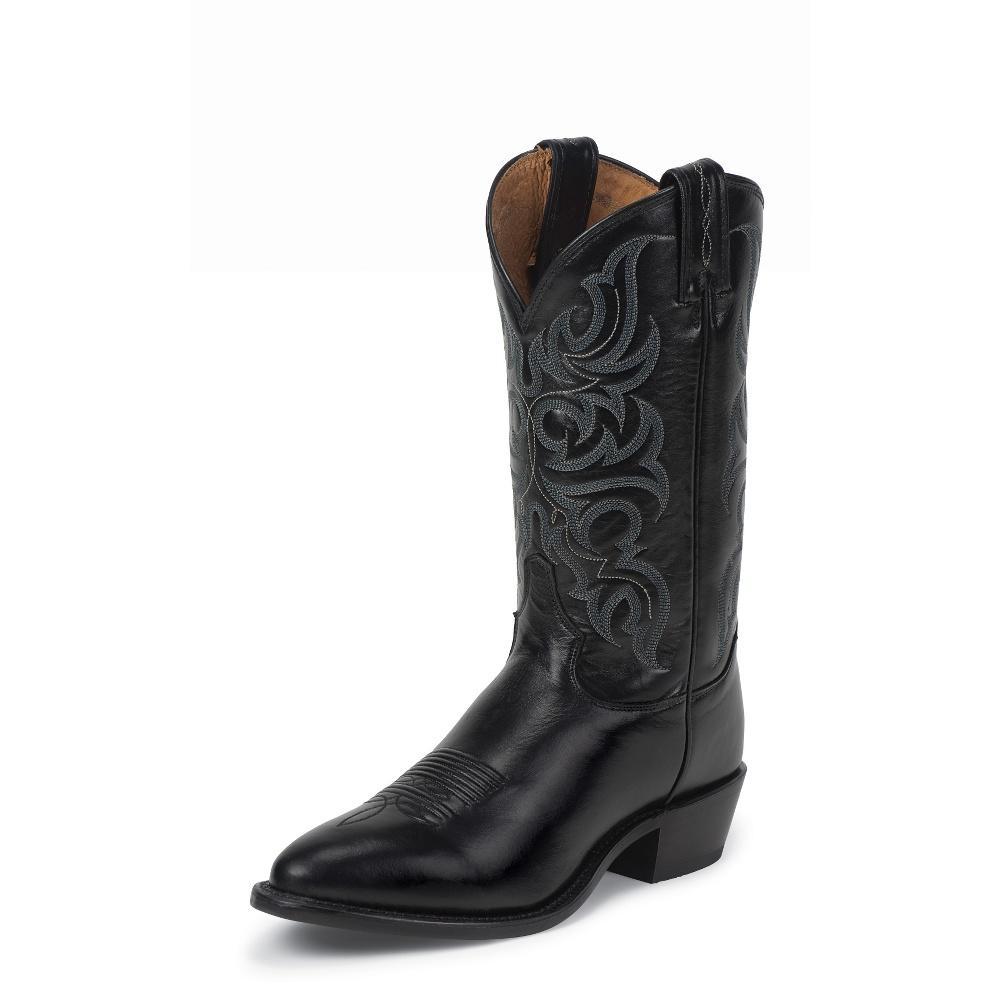 0ad62673de2 Tony Lama Mens Black El Paso Americana Boots