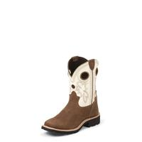 Tony Lama Kid's Bark Cheyenne Buffalo 3R™ Boots