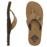 Men's Reef Montse Leather Flip Flops