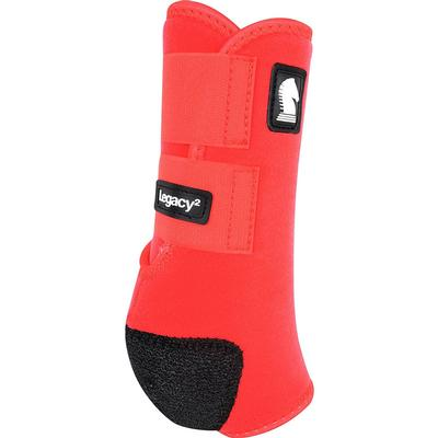 Classic Equine Legacy System Front Boots RED