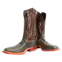 Justin Men's Brown Tiger Eye Boots