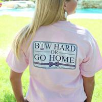 Jadelynn Brooke Bow Hard Or Go Home Tee