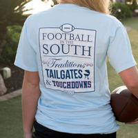 Jadelynn Brooke Football In The South Tee
